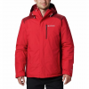Columbia Men ' S Tipton Peak Insulated Jacket - Mountain Red
