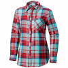 Columbia Women ' S Simply Put Ii Flannel Shirt - Rich Wine