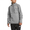 The North Face Youth Boys Gordon Lyons 1 / 4 Zip Fleece - Tnf Medium Grey