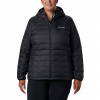 Columbia Women ' S Voodoo Falls 590 Turbodown Hooded Jacket ( Extended Sizes ) - Black