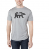 Tentree Men ' S Den T - High Rise Grey Heather