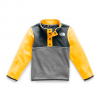 The North Face Youth Toddler Glacier 1 / 4 Snap Fleece - Tnf Yellow
