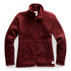 The North Face Women ' S Crescent Full Zip Jacket - Deep Garnet Red Heather
