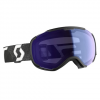 Scott Men ' S Faze Ii Snowsports Goggle - Black White / Illuminator Blue Chrome