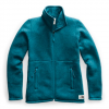 The North Face Women ' S Crescent Full Zip Jacket - Blue Coral Black Heather