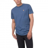 Tentree Men ' S Standard T - Shirt - Dark Ocean Blue Heather