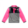 The North Face Youth Toddler Glacier 1 / 4 Snap Fleece - Mr . Pink