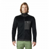 Mountain Hardwear Men ' S Monkey Fleece Jacket - Black