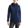 The North Face Women ' S Crescent Hooded Pullover - Montague Blue Heather