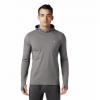 Mountain Hardwear Men ' S Ghee Hoody - Heathered Shark