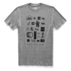 The North Face Men ' S Short Sleeve Our Dna Tee - Tnf Medium Grey Heather