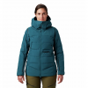 Mountain Hardwear Women ' S Direct North Gore - Tex Infinium Down Jacket - Dive