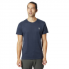 Mountain Hardwear Men ' S Hardwear Logo Short Sleeve T - Shirt - Dark Zinc