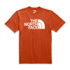 The North Face Men ' S Short Sleeve Half Dome Tee - Picante Red