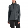 The North Face Women ' S Essential 1 / 2 Zip Pullover - Tnf Dark Grey Heather