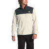 The North Face Men ' S Tka Glacier 1 / 4 Zip - Vintage White