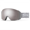 Smith Men ' S 4d Mag Snow Goggle - Cloud Grey / Chromapop Sun Platinum Mirror