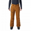 Mountain Hardwear Men ' S Cloud Band Insulated Gore - Tex Pant - Golden Brown