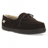 Western Chief Men ' S Moc Microfiber Slippers - Chocolate