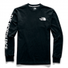 The North Face Men ' S Long Sleeve Brand Proud Cotton Tee - Tnf Black