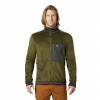 Mountain Hardwear Men ' S Monkey Fleece Jacket - Dark Army