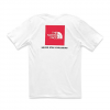 The North Face Men ' S Short Sleeve Red Box Tee - Tnf White