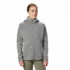 Mountain Hardwear Women ' S Hatcher Full Zip Hoody - Manta Grey