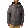 Columbia Men ' S Whirlibird Iv Interchange Jacket - City Grey Mountains Jacquard Print