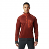Mountain Hardwear Men ' S Norse Peak 1 / 2 Zip - Rust Red