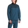 The North Face Men ' S Tka Glacier 1 / 4 Zip - Blue Wing Teal