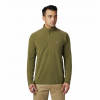 Mountain Hardwear Men ' S Macrochill 1 / 2 Zip - Combat Green