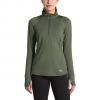 The North Face Women ' S Essential 1 / 2 Zip Pullover - New Taupe Green