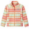 Columbia Girl ' S Youth Benton Springs Ii Printed Fleece Jacket - 873brtnectar