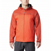 Columbia Men ' S Glennaker Lake Lined Rain Jacket ( Tall Extended Sizes ) - 845wildfire