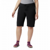 Columbia Women ' S Anytime Outdoor Long Short ( Extended Sizes ) - Black