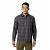 Mountain Hardwear Men ' S Burney Falls Long Sleeve Shirt - Void