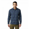 Mountain Hardwear Men ' S Voyager One Long Sleeve Shirt - Zinc