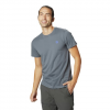 Mountain Hardwear Men ' S Hardwear Logo Short Sleeve T - Shirt - Graphite