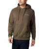 Columbia Men ' S Viewmont Ii Sleeve Graphic Hoodie - Olive Green