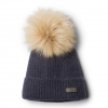 Columbia Women ' S Winter Blur Pom Pom Beanie - Nocturnal