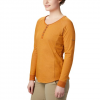Columbia Women ' S Times Two Knit Henley Top - Caramel