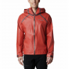 Columbia Men ' S Outdry Ex Reign Jacket ( Extended Sizes ) - Carnelian Red