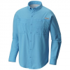 Columbia Men ' S Pfg Tamiami Ii Long Sleeve Shirt - Vivid Blue