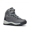 Columbia Women ' S Newton Ridge Plus Waterproof Hiking Boot - Quarry / Coolwave