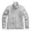 The North Face Women ' S Crescent Full Zip Jacket - Tnf Light Grey Heather
