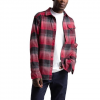 The North Face Men ' S Long - Sleeve Stayside Chamois Shirt - Asphalt Grey Stayin ' Plaid