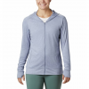 Columbia Women ' S Place To Place Ii Full Zip Hoodie - New Moon