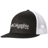 Columbia Men ' S Pfg Mesh Flat Brim Ballcap - 013black / Cypress
