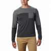 Columbia Men ' S Outdoor Elements Long Sleeve T - Shirt - Sage