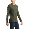 The North Face Women ' S Long Sleeve Brand Proud Tee - New Taupe Green